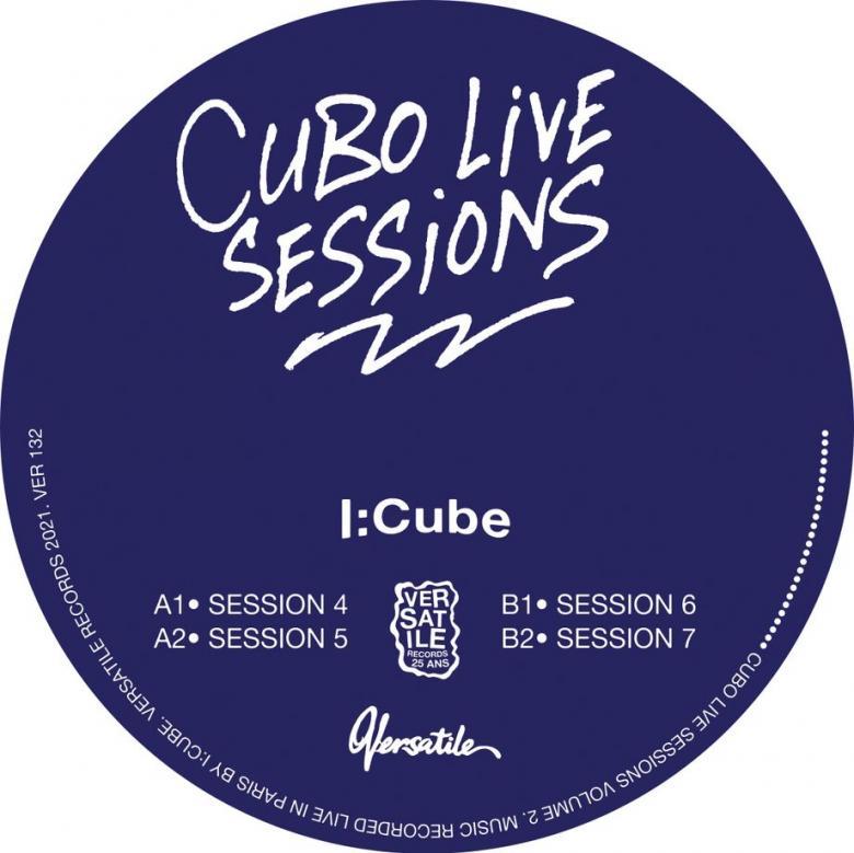 I:CUBE - Cubo Live Sessions Volume 2 : VERSATILE (FRA)