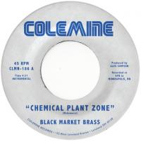 BLACK MARKET BRASS - Chemical Plant Zone : COLEMINE RECORDS (US)