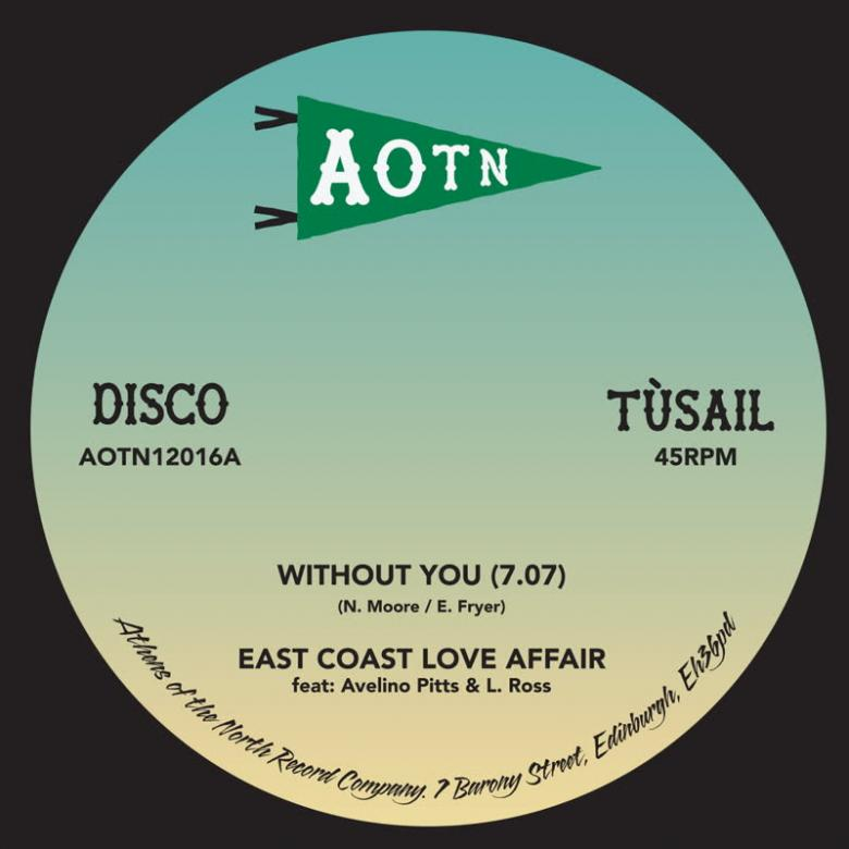 EAST COAST LOVE AFFAIR & MARY LOVE COMER - Without You : 12inch