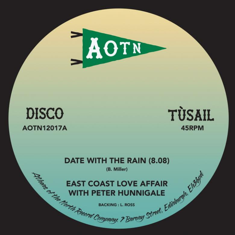 EAST COAST LOVE AFFAIR - Date with the Rain (feat. Peter Hunningale & L. Ross) : 12inch