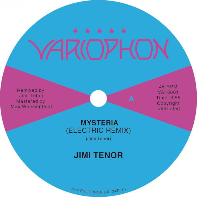 JIMI TENOR - Mysteria (Electric Remix) : 7inch