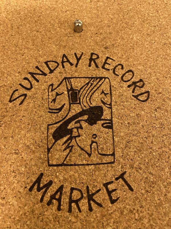 SUNDAY RECORD MARKET - Sunday Record Market  Turntable Mat : ACCESSORIES gallery 0