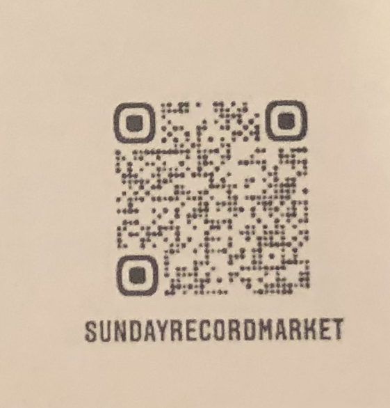 SUNDAY RECORD MARKET - Sunday Record Market  Turntable Mat : ACCESSORIES gallery 3