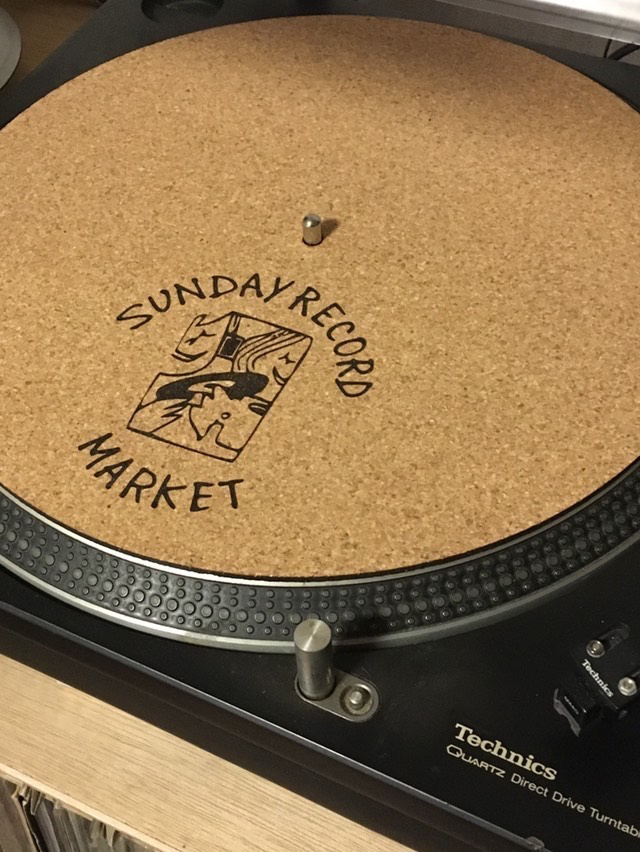 SUNDAY RECORD MARKET - Sunday Record Market  Turntable Mat : ACCESSORIES gallery 1