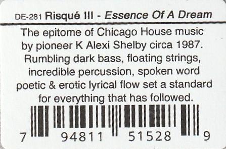 RISQUÉ III - Essence Of A Dream : 12inch gallery 4
