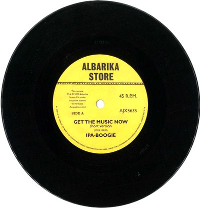 IPA-BOOGIE - Get The Music Now / Africa : 7inch