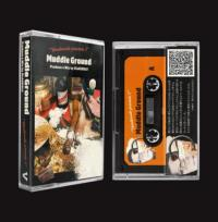 DJ.BLACKOLY - Muddle Ground : CASSETTE + DOWNLOAD CODE