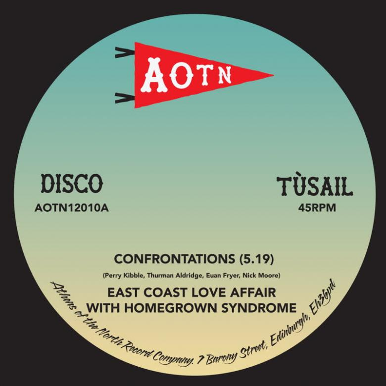 EAST COAST LOVE AFFAIR - Confrontations : 12inch