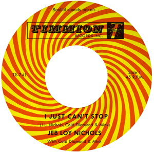 JEB LOY NICHOLS - I Just Can't Stop : TIMMION (FIN)
