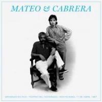EDUARDO MATEO & FERNANDO CABRERA - GRABADO EN VIVO - TEATRO DEL NOTARIADO, MONTEVIDEO, 1987 : LP