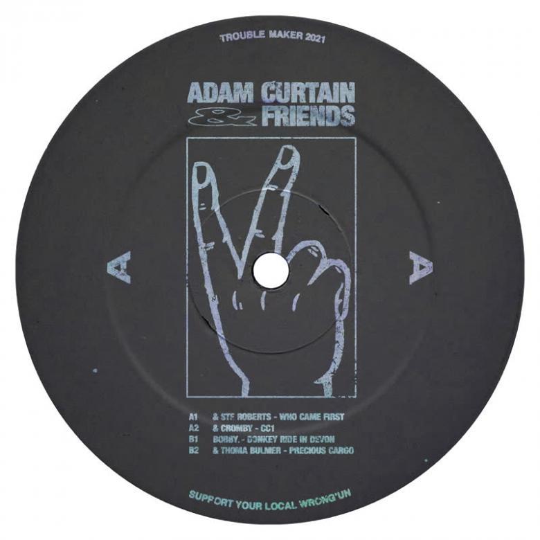 ADAM CURTAIN - Adam Curtain & Friends : 12inch