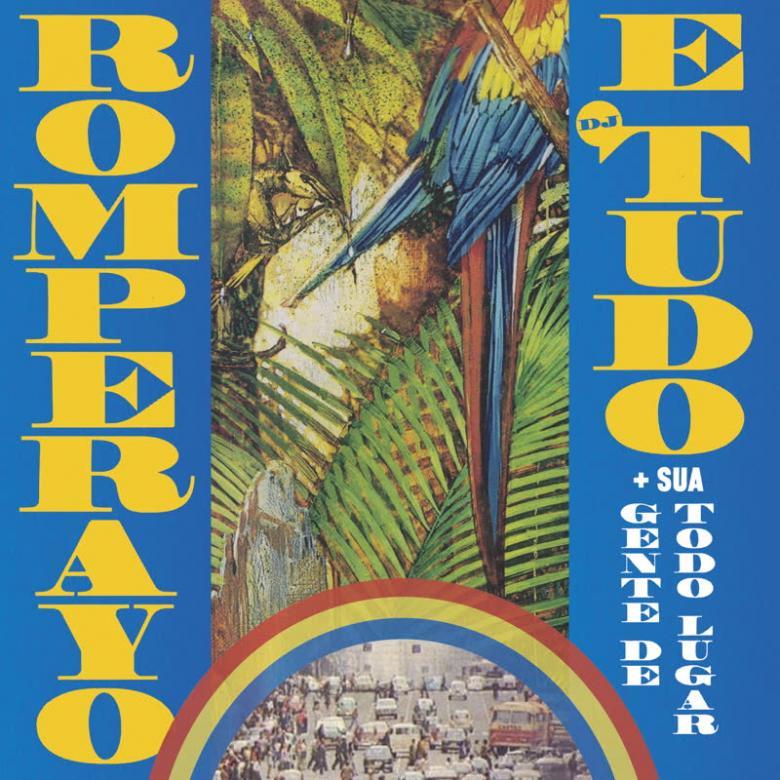 ROMPERAYO & DJ TUDO - Rhythmic Emancipation (feat. Sua Gente de Todo Lugar) : 7inch×2