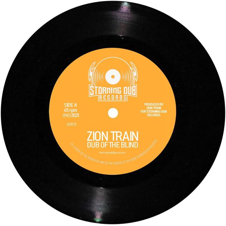 ZION TRAIN - Dub Of The Blind / Graea Dub : 7inch