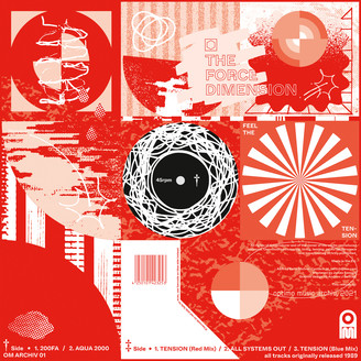 FORCE DIMENSION - Feel The Tension : Optimo Music Archiv (UK)