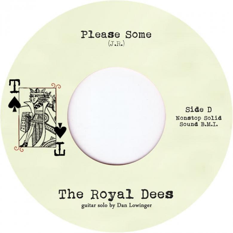 THE ROYAL DEES - Please Some : TRAMP (UK)