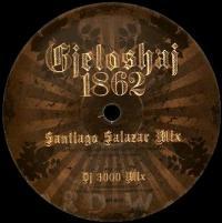 DJ 3000 & SANTIAGO SALAZAR - Gjeloshaj 1862 : 12inch