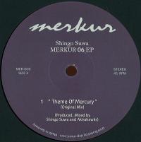 SHINGO SUWA - Merkur 06 EP : 12inch