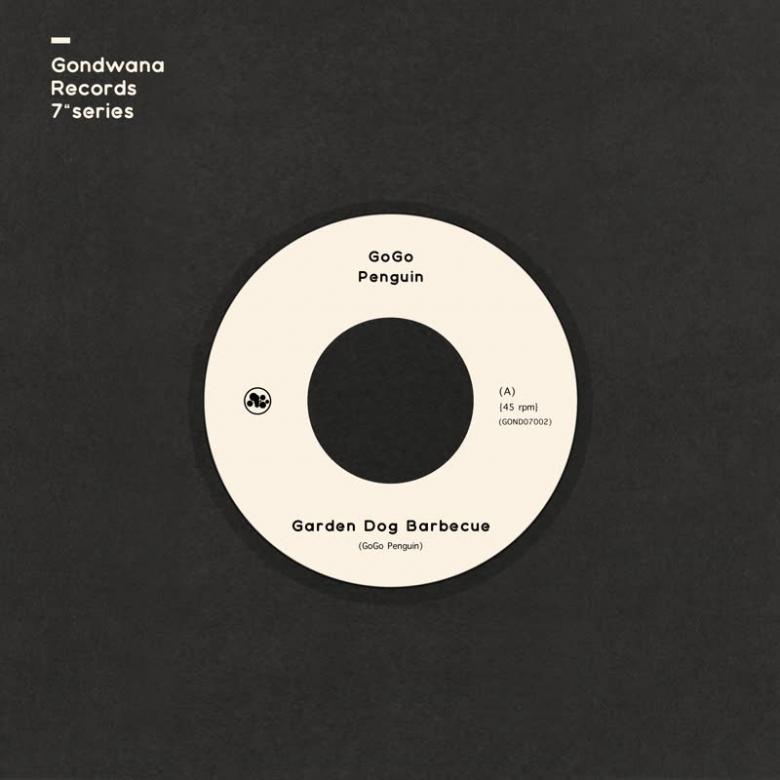 GOGO PENGUIN - Garden Dog Barbecue / Hopopono - (Ltd Clear edition 7