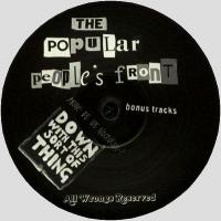 THE POPULAR PEOPLE'S FRONT - AMMO 2 : 12inch
