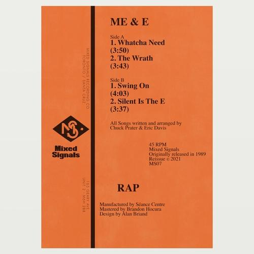 ME & E - Rap : MIXED SIGNALS (US)