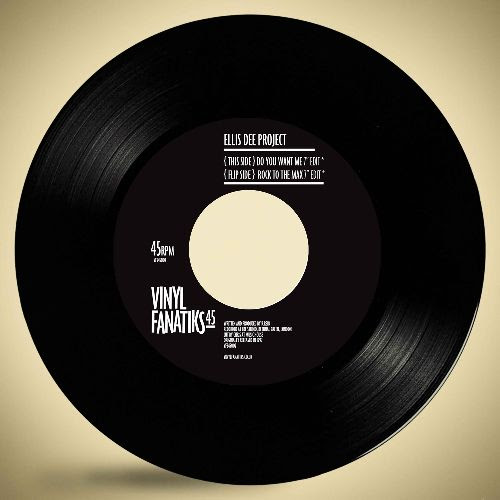 ELLIS DEE - Do You Want Me / Rock To The Max : 7inch
