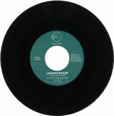 LAMONT BUTLER - Ungodly War (Al Kent's Heavenly Edit) / Get Up And Praise The Lord : 7inch