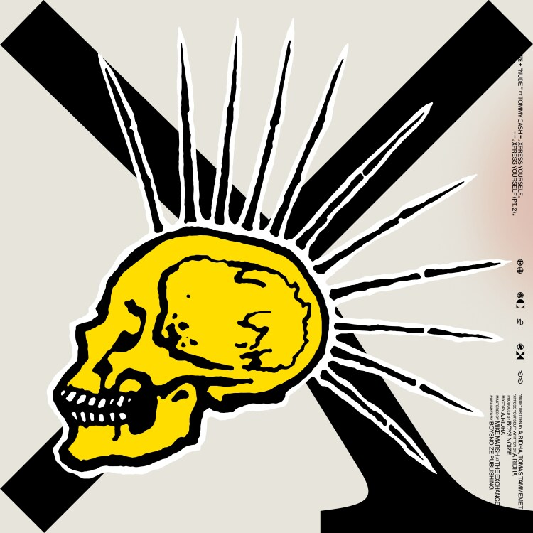 BOYS NOIZE - Nude feat. Tommy Cash / Xpress Yourself : 12inch