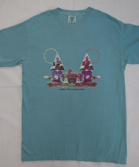 CHILL MOUNTAIN - 「Under the laundromat」RemixCollage T-shirts Green Size M : WEAR gallery 1