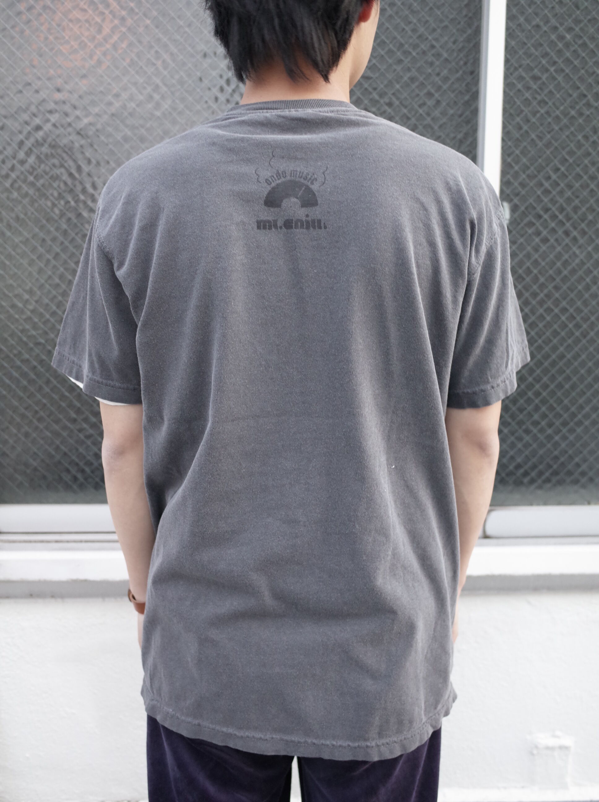 CHILL MOUNTAIN - 「Under the laundromat」RemixCollage T-shirts wash black Size L : WEAR gallery 0