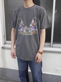 CHILL MOUNTAIN - 「Under the laundromat」RemixCollage T-shirts wash black Size L : CHILL MOUNTAIN (JPN)