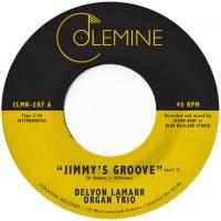 DELVON LAMARR ORGAN TRIO - Jimmy's Groove' (Pink Vinyl 7