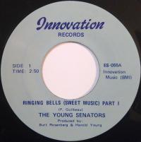 THE YOUNG SENATORS - Ringing Bells (Sweet Music) : 7inch