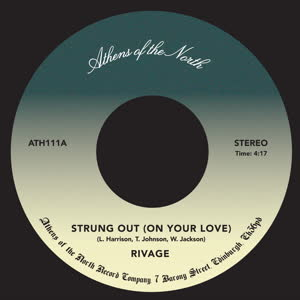 RIVAGE - Strung out on Your Love : ATHENS OF THE NORTH (UK)