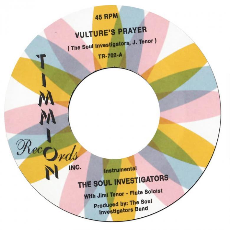 THE SOUL INVESTIGATORS - Vulture's Prayer (feat. Jimi Tenor) : 7inch