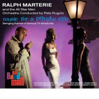 RALPH MARTERIE - Music For A Private Eye + Big Band Man (2 Lp On 1 Cd) digipack : CD