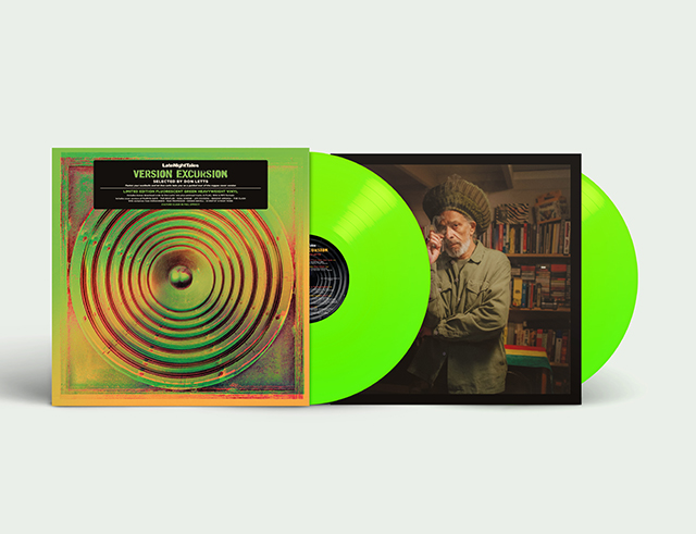 DON LETTS - Late Night Tales presents Version Excursion selected by Don Letts鐚?FLUORESCENT GREEN HEAVYWEIGHT VINYL鐚? : LATE NIGHT TALES (UK)