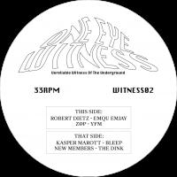 ROBERT DIETZ, Z@P, KASPER MAROTT & NEW MEMBERS - WITNESS02 : ONE EYE WITNESS (HOL)
