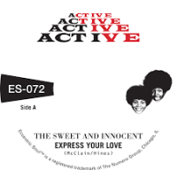 SWEET AND INNOCENT - Express Your Love / Cry Love(Numero Gold Vinyl 7