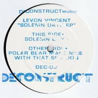 LEVON VINCENT - Solemn Days EP : 12inch