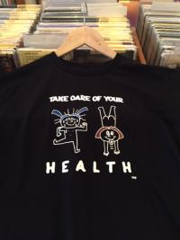 RIE LAMBDOLL - DOLFE and MELFE Take Care of Your Health TEE Black M size : T-SHIRT
